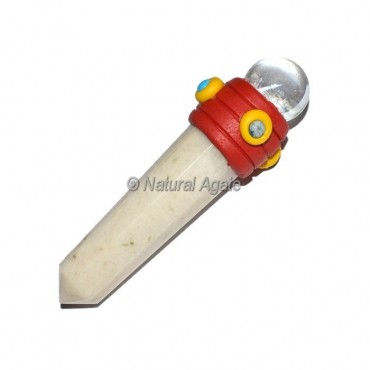 Moonstone Tibetan Stick