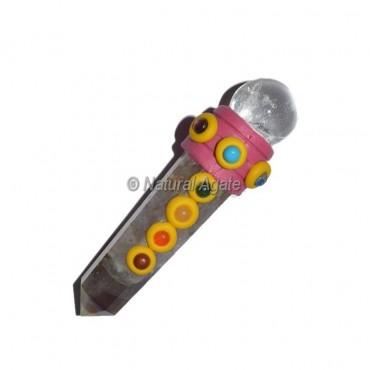 Amethyst Chakra Tibetan Stick