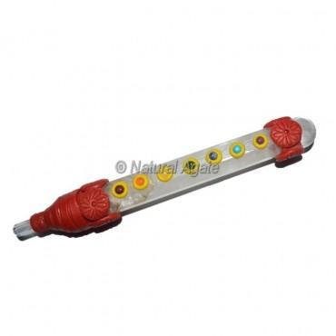 Crystal Quartz 7 Chakra Tibetan Stick