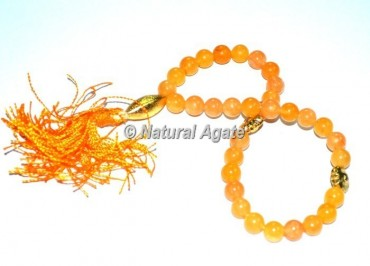 Golden Quartz 33 Beads Tasbih