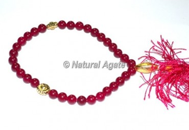 Ruby 33 Beads Tasbih