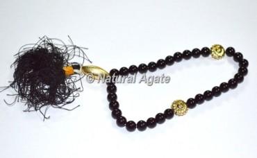 Black Agate 33 Beads Tasbih