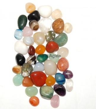 Mix Gemstone Tumbled Stone
