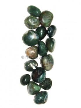 Moss Agate Tumbled Stone