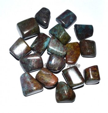 Ruby in Kyanite Tumbled Stones