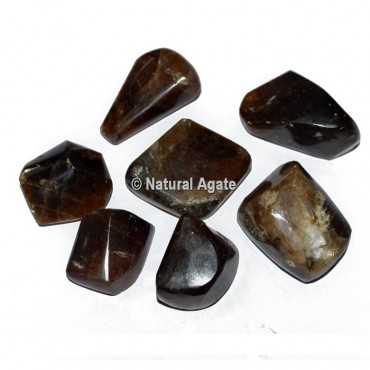 Honey Calcite Tumbled Stones