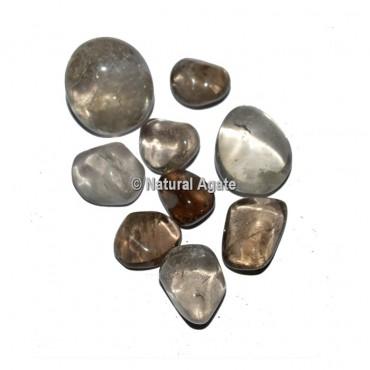 AA Smokey Quartz Tumbled Stones