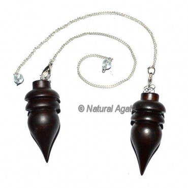 Egyptian Cut Rose WooD Pendulums