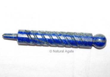 Lapis Lazuli carved Wands