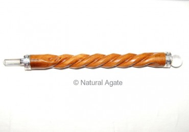 Yellow Wood Wands Spiral