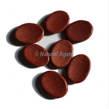 Brown Sunstone Worry Stone