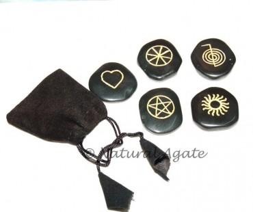 Black Agate Sun Wiccan Sets