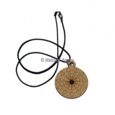 Tree Of Life Engraved Wooden Pendants