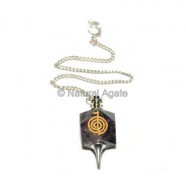 Amethyst Choko Reiki Pendulums