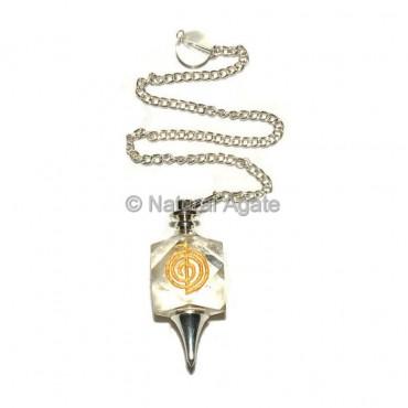 Crystal Quartz Choko Reiki Pendulums