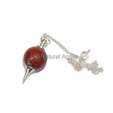 Red Jasper Ball Pendulums