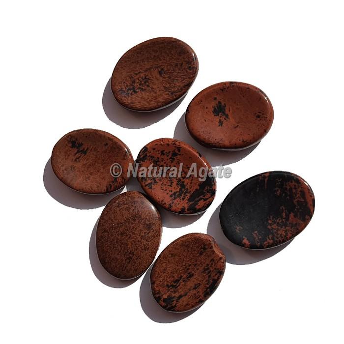 Mahagony Obsidian Worry Stone