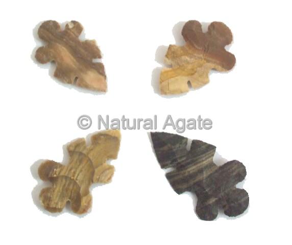 Indian Agate Native Arrowheads